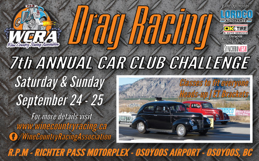 Wine Country Racing Car Club Challenge Osoyoos